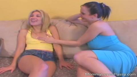 milf lesbienne gode une jeune salope