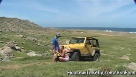 couple amateur baise en voiture