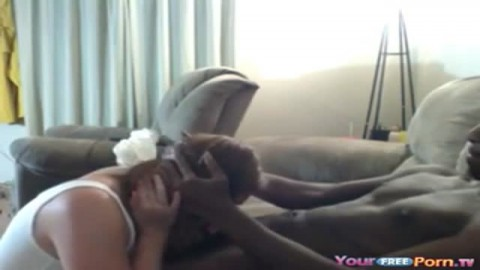Big Booty White Girl Rides Her Black BF