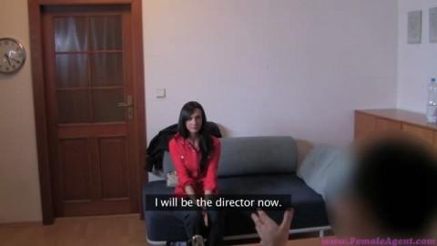 Cynthia pour un casting