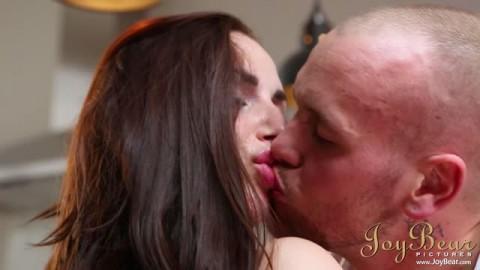 JoyBear Paige Turnah kitchen Erotic fuck